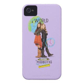 Un mundo de posibilidades iPhone 4 Case-Mate cárcasas