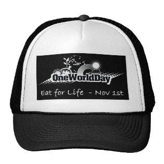 Un mundo día 1 de noviembre gorras
