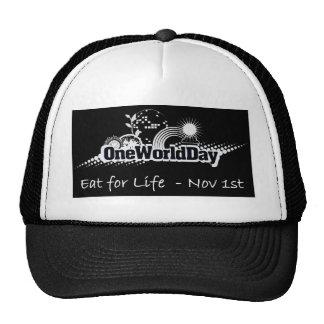 Un mundo día 1 de noviembre gorras de camionero