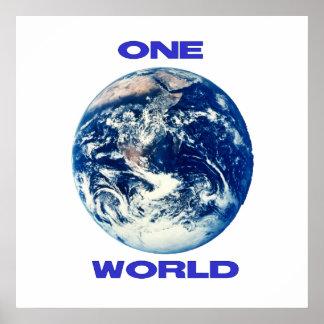 UN mundo Póster