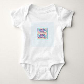 Un mundo sin los libros estaría como body para bebé