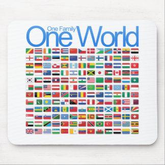 Un mundo mouse pad