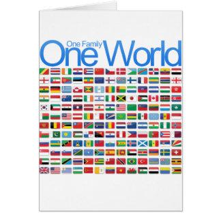 Un mundo tarjeton
