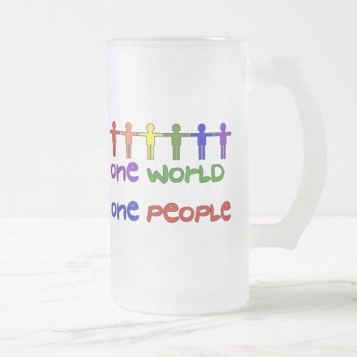 Un mundo taza de café
