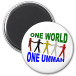 Un mundo uno Ummah Imán De Frigorifico