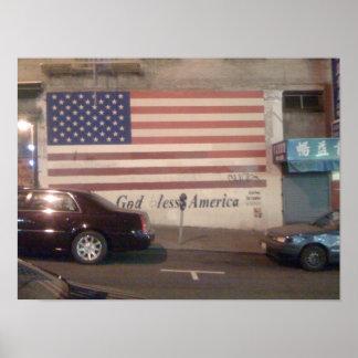 Un mural en San Francisco Póster
