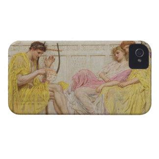 Un músico, c.1867 (aceite en lona) iPhone 4 Case-Mate cobertura