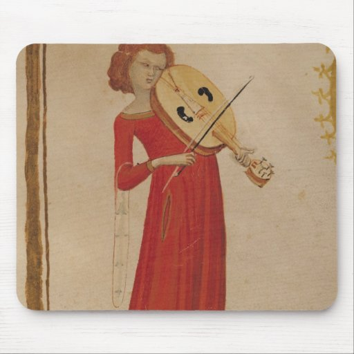 "Un músico, de ""De Musica"" por Boethius Tapete De Raton"