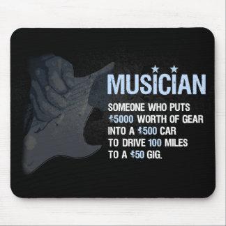 Un músico es… tapetes de ratones