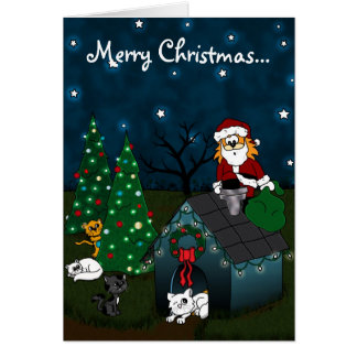 'Un navidad del Caboodle Tarjeta De Felicitación