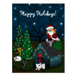 'Un navidad del Caboodle Tarjeta Postal