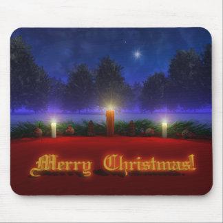 Un navidad más brillante Mousepad de las visiones Alfombrillas De Ratones