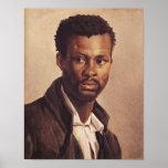 Un negro, 1823-24 póster