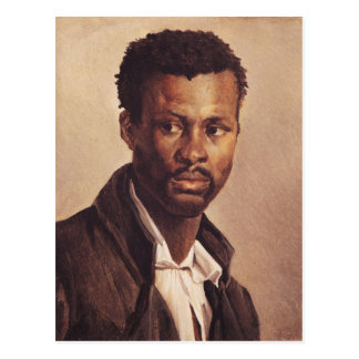Un negro, 1823-24 tarjeta postal
