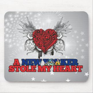 Un neoyorquino robó mi corazón tapetes de ratón