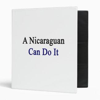 Un Nicaraguan puede hacerlo