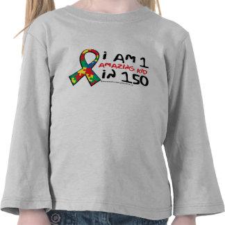 Un niño asombroso camiseta