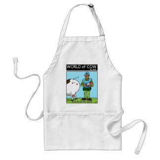UN no fly zone Adult Apron