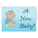 ¡Un nuevo bebé! Felicitación