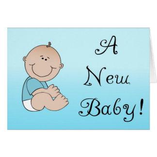 Un nuevo bebé tarjeta de felicitación