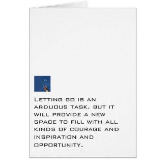 Un nuevo espacio a llenar tarjeta pequeña