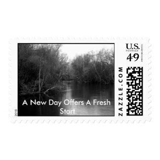 Un nuevo franqueo del día sello postal