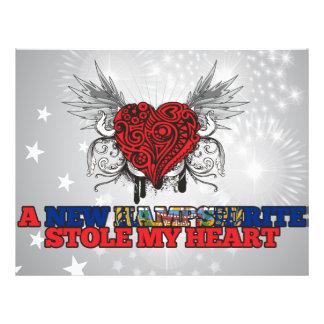 Un nuevo Hampshirite robó mi corazón Tarjetas Informativas