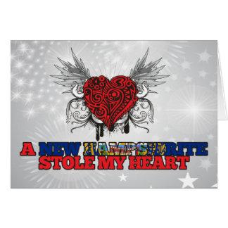 Un nuevo Hampshirite robó mi corazón Felicitaciones