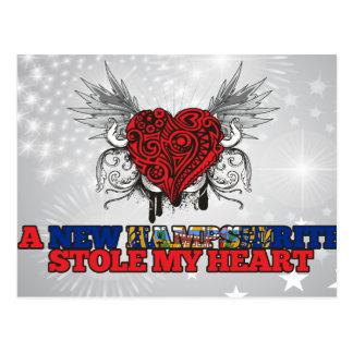 Un nuevo Hampshirite robó mi corazón Postal
