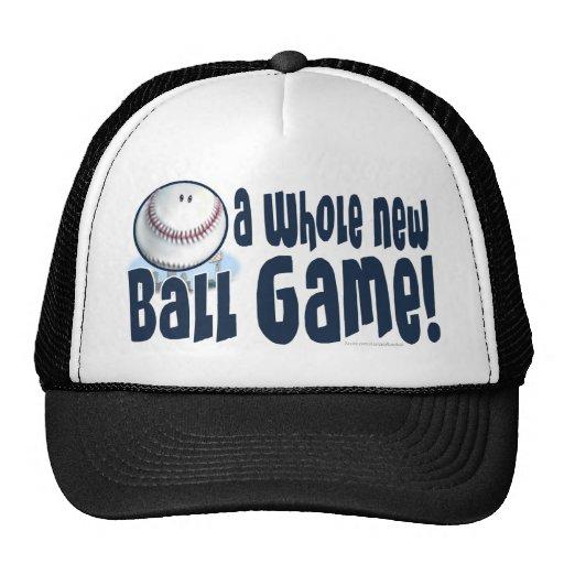 ¡Un nuevo juego de pelota entero! Gorra
