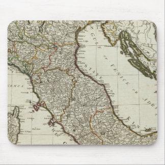 Un nuevo mapa de Italia con las islas de Sicilia Alfombrillas De Ratón