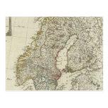 Un nuevo mapa de los estados septentrionales postal