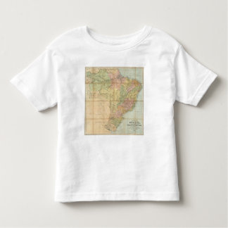Un nuevo mapa del Brasil Playera De Bebé