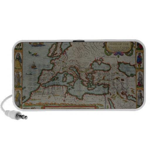 Un nuevo mapa del imperio romano iPod altavoz