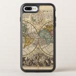 Un nuevo mapa del mundo entero con los vientos funda OtterBox symmetry para iPhone 7 plus