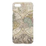 Un nuevo mapa del mundo entero con los vientos funda para iPhone 7