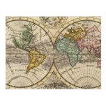 Un nuevo mapa del mundo entero con los vientos postal
