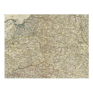 Un nuevo mapa del Reino de Polonia Postal