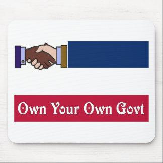 Un nuevo Mississippi: Poseer su propio Govt Alfombrilla De Ratón
