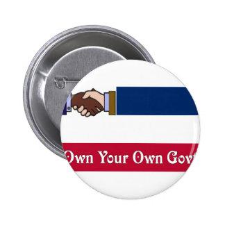 Un nuevo Mississippi: Poseer su propio Govt Pins