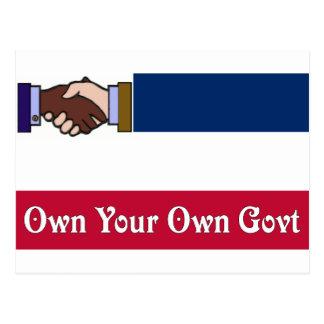 Un nuevo Mississippi: Poseer su propio Govt Postal