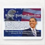 Un nuevo nacimiento de la libertad tapete de ratón
