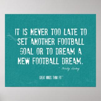 Un nuevo poster del sueño del fútbol