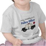 Un oficial de policía de mi papá camiseta