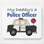 Un oficial de policía de mi papá alfombrilla de ratón