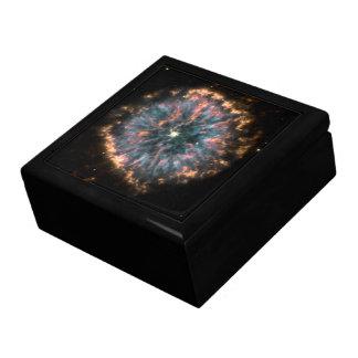 Un ojo celestial que brilla intensamente conocido cajas de regalo