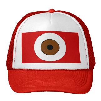 Un ojo de Brown Gorras De Camionero
