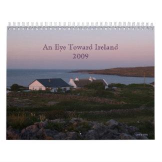 Un ojo hacia Irlanda 2009 Calendarios De Pared
