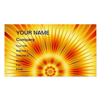 Un ojo que coge diseño abstracto tarjetas de visita