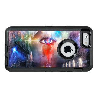 Un ojo que ve el caso de la serie del defensor del funda otterbox para iPhone 6/6s